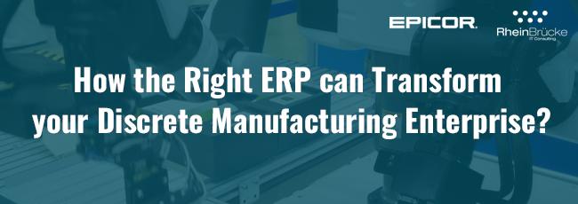 ERP for Discrete Manufacturers