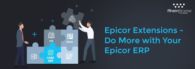Epicor ERP Extensions