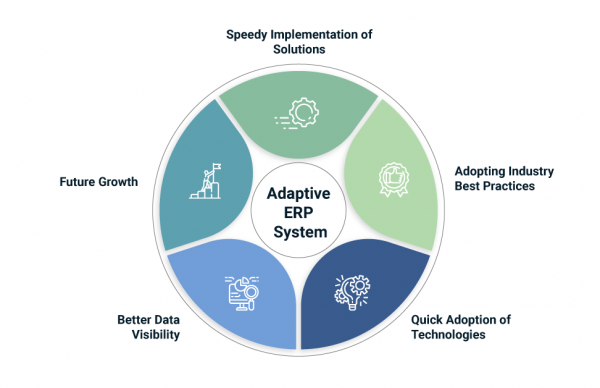 Reasons for choosing adaptive erp - infographic