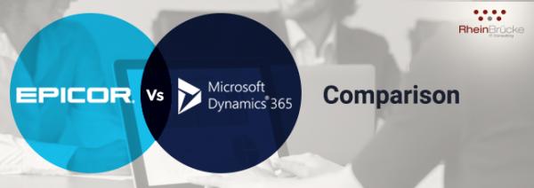 EPICOR vs Microsoft Dynamics 365