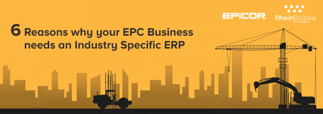 ERP For EPC Industry